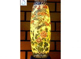Đèn sứ thấu quang: Tinh hoa gốm sứ Bát Tràng