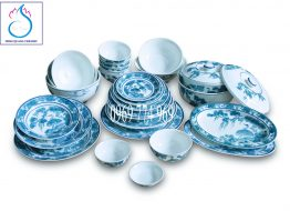 Bộ đồ ăn gốm sứ Bát Tràng mua ở đâu chất lượng tốt nhất?