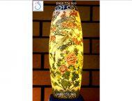 Địa chỉ mua đèn sứ thấu quang vẽ chim trĩ hoa phù dung đảm bảo chất lượng, giá cả hợp lý tại Hà Nội